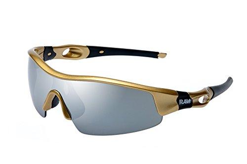 Ravs Uni High - Gafas deportivas de sol (para ciclismo, triatlón, vóley-playa, kitesurf)