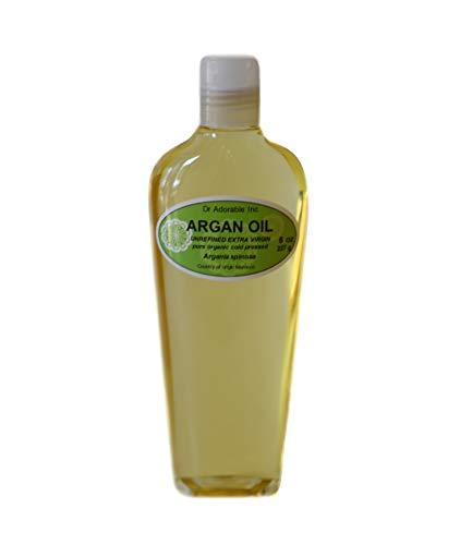 Extra Virgin Argan Unrefined Organic Cold Pressed Pure Pure 8 Oz
