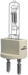 Arri EGT 1,000 Watt, 120 Volt Quartz Halogen Lamp, 3200 deg.K., Approximate Life: 250 Hours