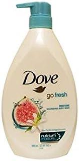 Dove Body Wash With Pump 27.05oz (800ML) (Blue Fig & Orange)