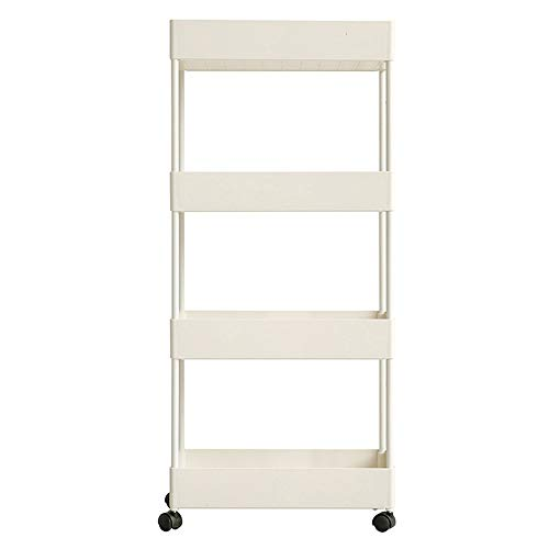Kitchen Trolley With Casters, Kitchen Side Trolley, Service Trolley, Bathroom Trolley, Household Trolley, Universal Trolley With Brake, Kitchen, Bathroom, Shelf, Trolley 0912