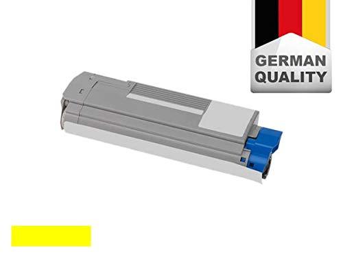 Toner für Oki ES2232A4/ES2632A4/ES5460MFP - Yellow (ersetzt Oki 43865729)