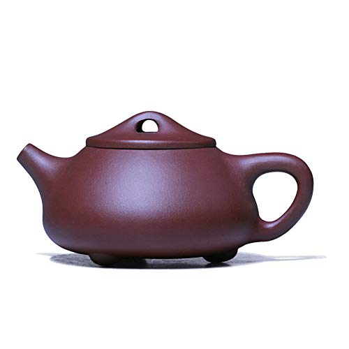 Mozentea Chinese Yixing zisha Handmade Purple Clay teapot mud Water Tea Sand Pot Kettle for gongfu Tea best gift YT2