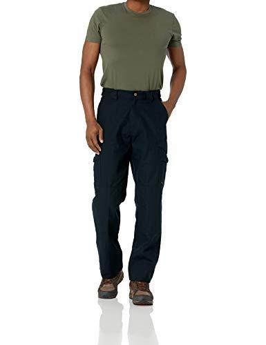 Tru-Spec Men's 24-7 Series Original Tactical Pant, Black, 28W Unhemmed