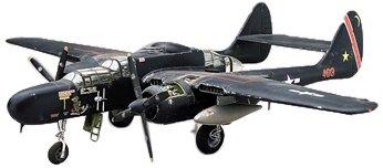 Revell-Monogram Maquette d'avion P-61 Black Widow Echelle 1/48, 85-7546, Multicolor
