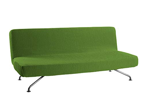 Martina Home Emilia Funda de Sofá Clic Clac, Tela, Verde, 180 a 205 cm