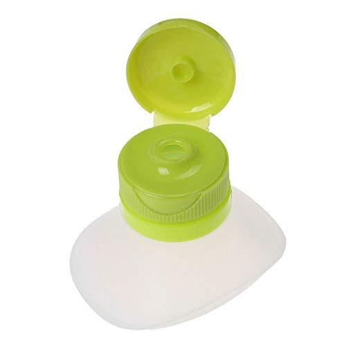 FiedFikt Plastic Dressing Bottle Condiment Dispenser Ketchup Mosterd Siliconen Geperste Saus Salade Fles Siliconen Knijpfles