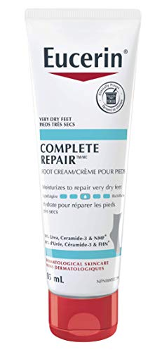 EUCERIN Complete Foot Repair Cream for Dry to Extremely Dry, Rough and Tight Skin, 85 mL tube