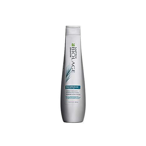 BIOLAGE Advanced Keratindose Conditioner   Nourishes Hair & Prevents Damage   Paraben-Free   For Damaged Hair   13.5 Fl. Oz.