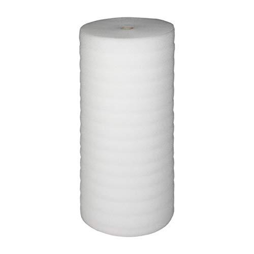 BB-Verpackungen 25 m² Trittschalldämmung 1,0 x 25 m (5 mm stark, sehr gute Schall- und Wärmedämmung) - Sets zwischen 25 m² und 250 m²