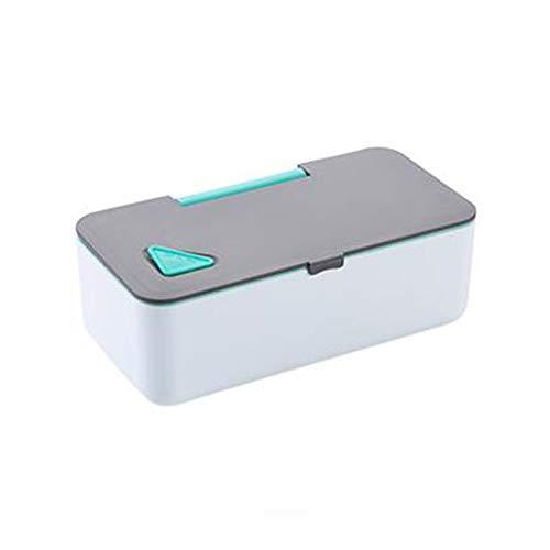 Fiambrera La caja de almuerzo for microondas de 650 ml soporte del teléfono portátil envase de alimento de la comida campestre escuela de los niños trabajadores Bento Box Recetas for la Oficina