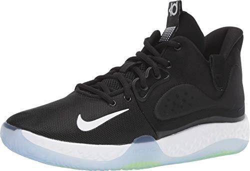 Zapatillas de baloncesto Nike KD Trey 5 VII para hombre, Negro (Negro/Gris/Volt), 39.5 EU