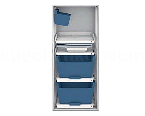 Hailo Wäschekorb Auszug Laundry Area Einbau Set 60.2/140 Wäschesammler Wäschebox