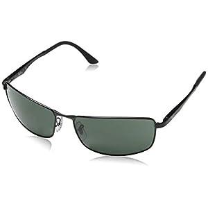Fashion Shopping Ray-Ban Sunglasses – RB3498 / Frame- Black Lens- Green,