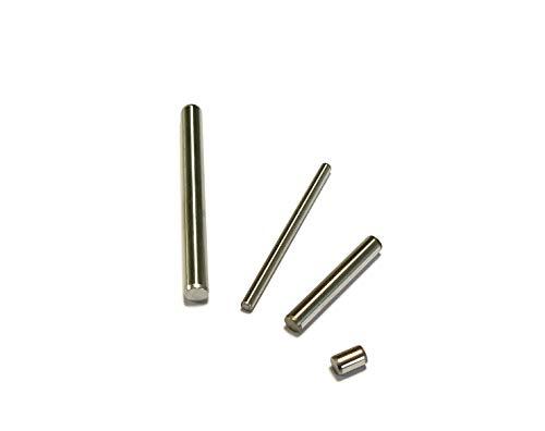 10 Stück Zylinderstift rostfrei Edelstahl (1.4034) geschliffen gehärtet Paßstift Passstift ISO 8734 (Ø 3x10 mm)