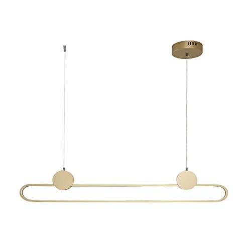 Z iluminación Nórdico de la lámpara Simple Creativa de la Sala de Estar Dormitorio Comedor Oficina Estudio Tienda de Ropa de Oro Decorativo LED Lámparas [energética A +] Fashion