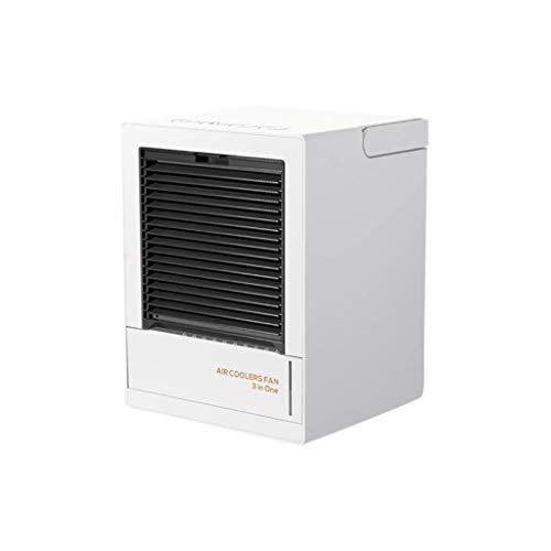 Petit Climatiseur Portable LED Unité de Conditionnement d'air du Ventilateur Cooler Climatiseur Ventilateur Humidificateur Espace Purifie Air Cooling Fan Bureau des ménages