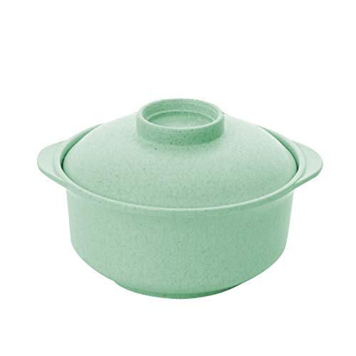 Chowcencen Instant-Topf Nudeln Schüssel mit Deckel Ramen-Schüssel Porridge Töpfe Students Nudelsuppe Container Reis Geschirr