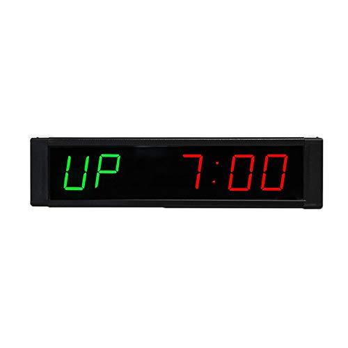 Temporizador Pantalla LED 1 pulgadas LED digital tiempos