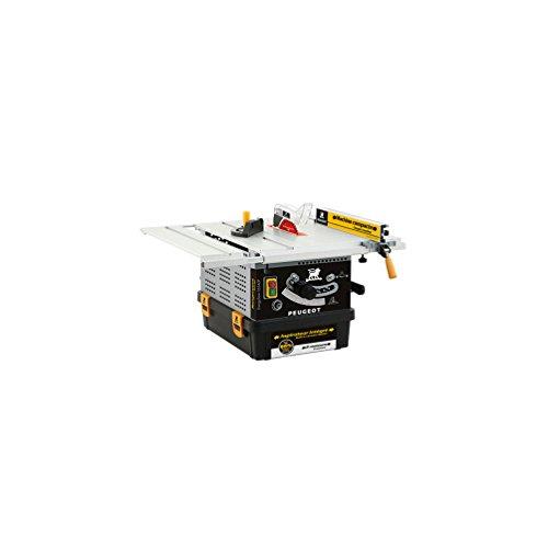 ENERGYSaw 254 B - Sierra circular de mesa con aspirador integrado - 1200 W -Hoja 165 mm 50 dientes - Eje 20 mm