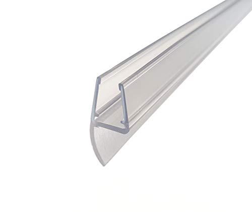 KRISTHAL Duschtürdichtung, Dichtleiste für Dusche und Duschtüre mit 200 cm Länge, für 6 und 8 mm, made in Germany, Art. Nr. 5001