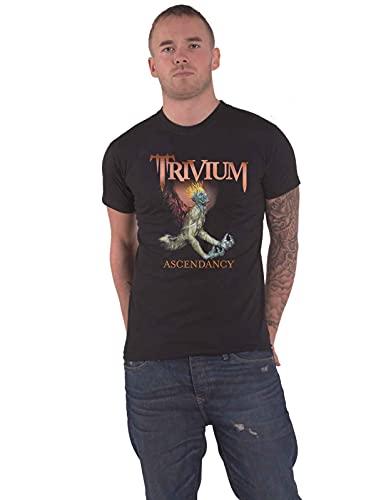 Trivium T Shirt Ascendancy 15 Band Logo Nue offiziell Herren