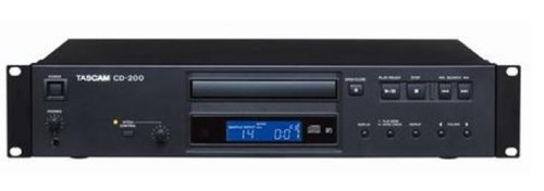 Tascam CD-200 Lettore di CD, Nero