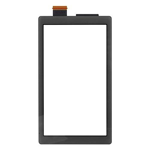 ASHATA Ersatzteile Zubehör Sets Bildschirmanzeige für Switch LITE Gamepad Controller, Hochwertiges ABS-Touchscreen-Spielgerätezubehör für Switch LITE(Schwarz)