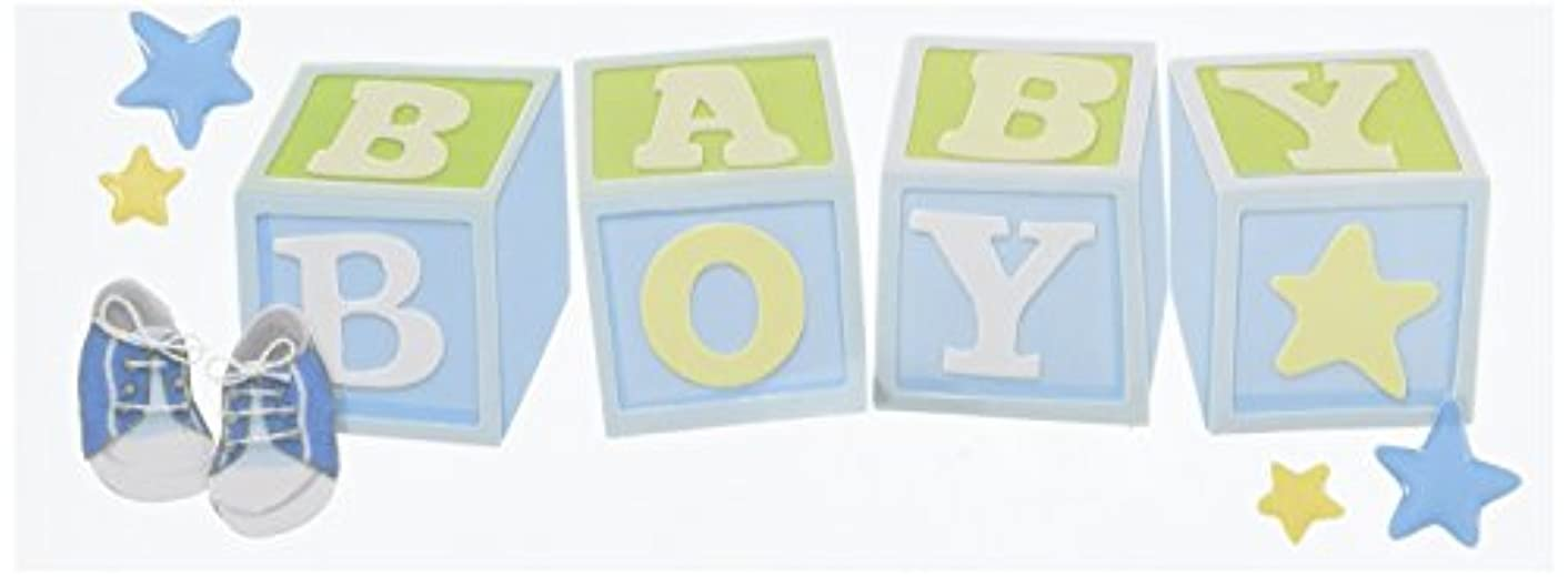 Jolee's Boutique Title Wave Stickers, Baby Boy