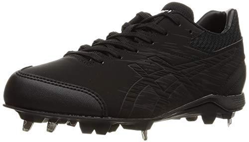 [アシックス] 野球 スパイク 金具 NEOREVIVE 4 001(ブラック/ブラック) 27 cm 3.5E