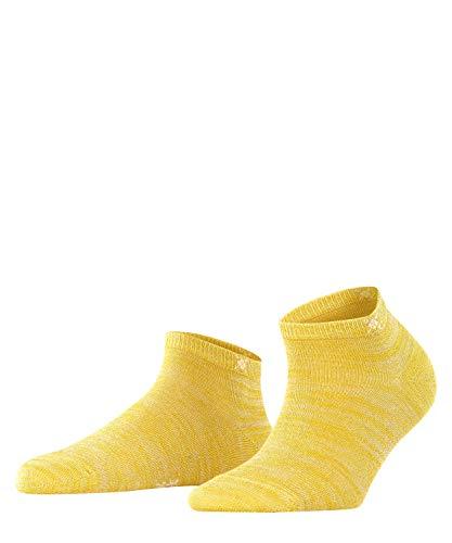 Burlington Damen Soho Vibes Sneakersocken, gelb (sunshine 1330), 36-41