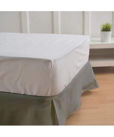 10XDIEZ Cubre canapés 90 Ceniza - Medidas canapé 90cm - Elegante y Sencillo de Lavar y Colocar - Tejido Fuerte, Suave y Duradero