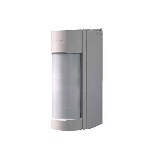 OPTEX VXI-DAM PIR-Bewegungsmelder mit Mikrowelle für den Außenbereich, mit Antimilben Reichweite m 12, 90°
