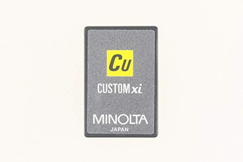Minolta Customized Function Card xi CU - Dynax 7000i 7000 i OVP