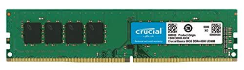 Crucial Basics 8GB DDR4 1.2v 2666Mhz CL19 UDIMM RAM Memory Module for Desktop