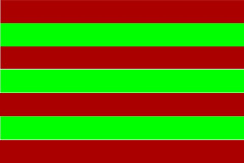 magFlags Bandera Large Derivada del pendon de Vecilla | Bandera Paisaje | 1.35m² | 90x150cm