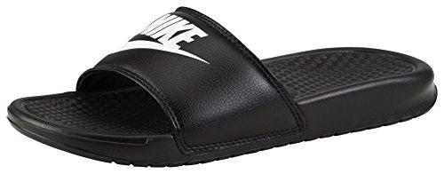 Nike Herren Benassi JDI Flip Flop, Schwarz (Black/White), 41 EU