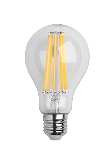 Bombilla Led Filamento Rosca E27 (Gorda) 16 Watt. Equivale A 150 Watt. 2452 Lumenes. Luz Cálida (2.700º K) A++