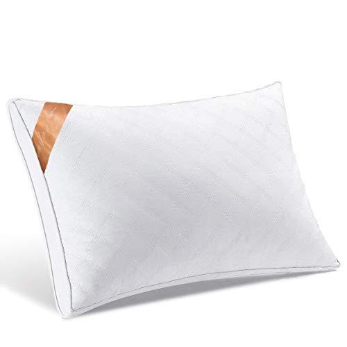 【AYO最新版】 枕 安眠 人気 良い通気性 高級ホテル仕様 高反発枕 横向き対応 丸洗い可能 立体構造43x63cm 家族のプレゼント ホワイト