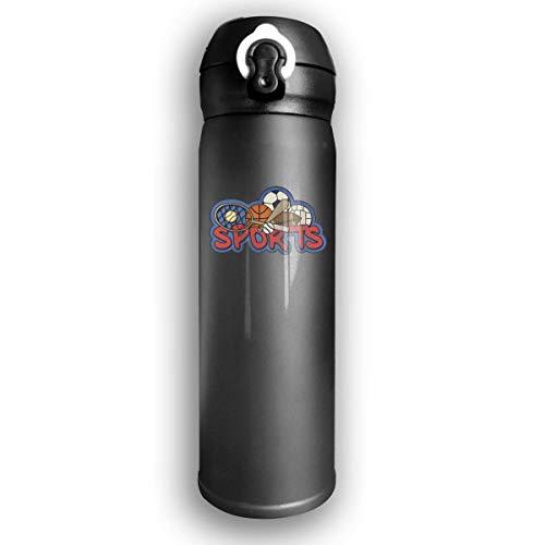Bestqe Bottiglia Acqua in Acciaio Inox,Borraccia Termica Isolamento Sottovuoto a Doppia Parete Sports-1024x600 Stainless Steel Leak Proof Travel Coffee Mug 17 Oz