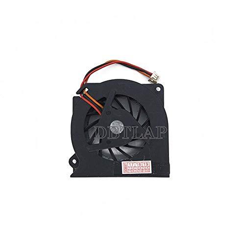 DBTLAP Ventilador de la CPU del Ordenador portátil para Fujitsu LifeBook T4010D S6230 S6240 S7025 S7020 S7021 S2110 S6220 S6010 T4010 T4020 MCF-S4512AM05 Ventilador