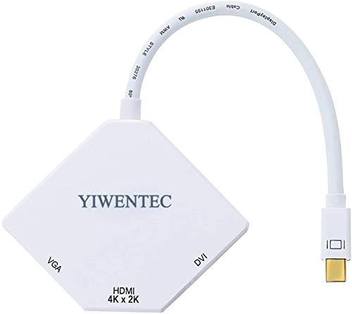 YIWENTEC The Cobra Appearance Multi-Function Thunderbolt Mini DisplayPort DP to HDMI VGA DVI Cable Converter Adapter