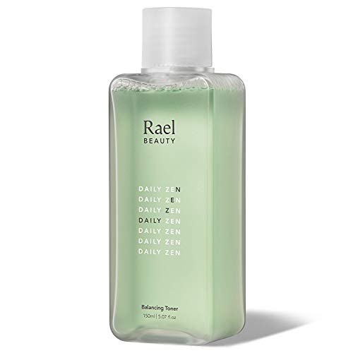 Rael Natural Balancing Facial Toner - Gentle Alcohol-Free Toner with Soothing Vitamin B5, pH-Balanced Toner for Face, Clean Ingredients for All Skin Types, Vegan Natural Skincare (5.07oz, 150ml)