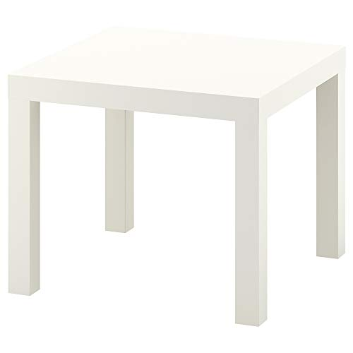 IKEA Side Table, Wood, White, 55 x 55 x 45 cm