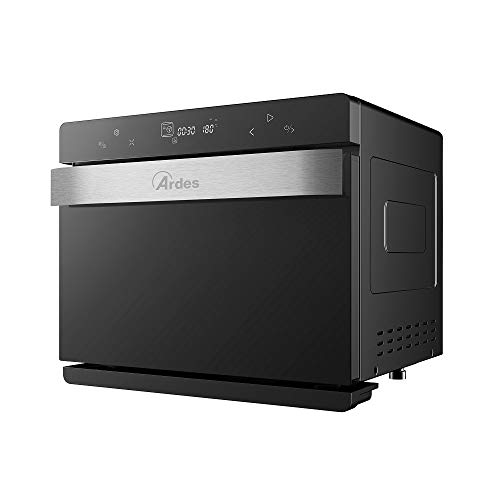Ardes AR6440VD MIST 400 Forno Elettrico 7 in 1, Capacità 40 l, Cottura Vapore 100%, Contenitore Acqua 1.45 l con Sensore, 9 Funzioni e 48 Programmi di Cottura Personalizzabili