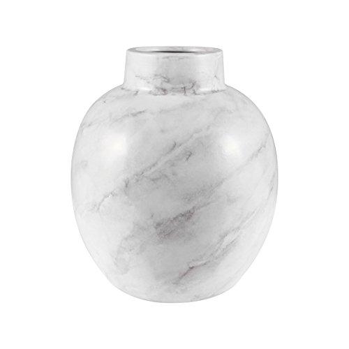 ELK 857-176 Vase/Jar/Bottle, White Faux Marble
