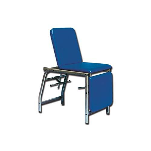 GIMA - Lettino da ambulatorio a 3 sezioni blu