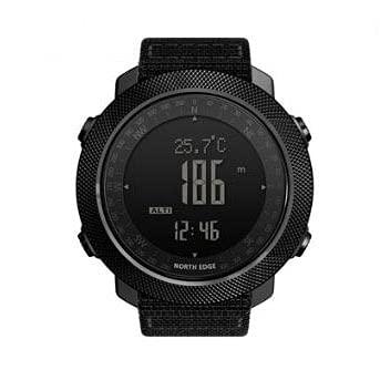 Bysion Reloj Inteligente, Impermeable, montañismo, natación, brújula Digital, altímetro, barómetro, termómetro, Reloj Deportivo para Hombres