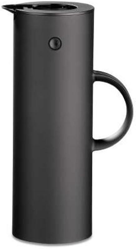 Stelton EM77 Vacuum Jug 33 8 Oz Soft Black