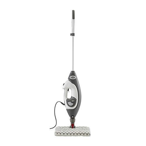 Shark Boden- & Hand-Dampfreiniger [S6005EU] Dampfmopp, Multi-Funktionsgerät, Weiß/Grau